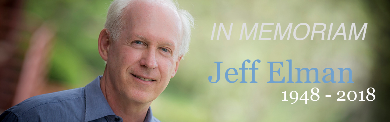 In Memoriam: Jeff Elman 1948-2018